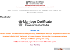 Marriageregistrations.in thumbnail
