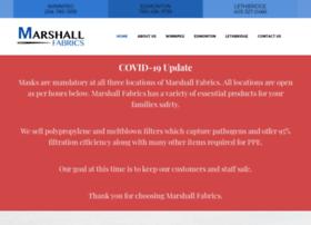 Marshallfabrics.com thumbnail