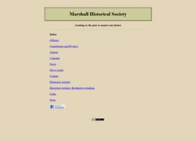 Marshallhistsoc.org thumbnail