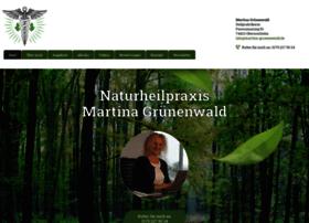 Martina-gruenenwald.de thumbnail