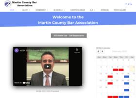 Martincountybar.org thumbnail