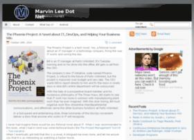Marvinlee.net thumbnail