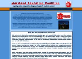 Marylandeducationcoalition.org thumbnail