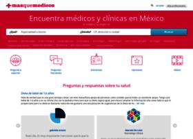 Masquemedicos.mx thumbnail