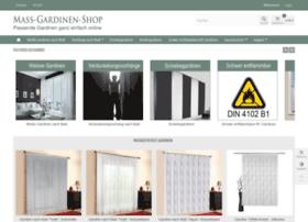 Mass-gardinen-shop.de thumbnail