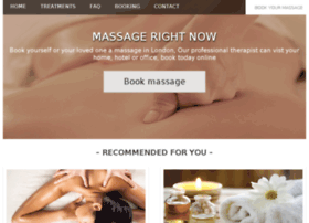 Massagerightnow.co.uk thumbnail
