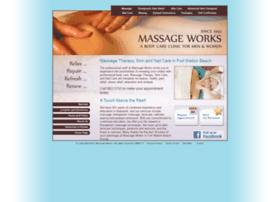 Massageworksfwb.com thumbnail