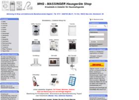 Massinger-ulm.de thumbnail