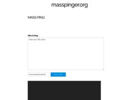 Masspinger.org thumbnail