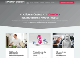 Masterdesign.se thumbnail