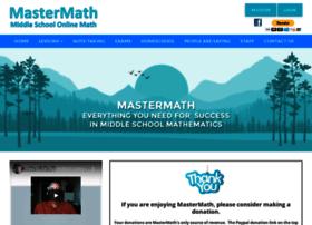Mastermath.info thumbnail