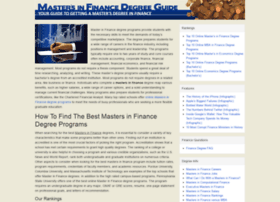 Masters-in-finance.org thumbnail
