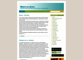 match-en-direct.net at Website Informer. MATCH EN DIRECT: tous les ...