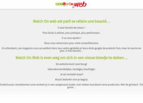 Matchonweb.be thumbnail