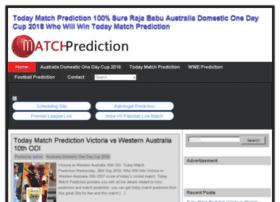 Matchprediction.today thumbnail