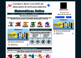 Matematicasonline.es thumbnail
