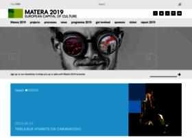 Matera-basilicata2019.it thumbnail