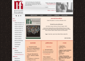 Materialifoucaultiani.org thumbnail