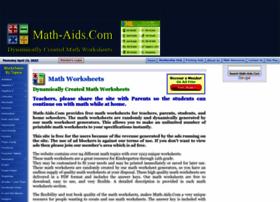 Math-aids.com thumbnail