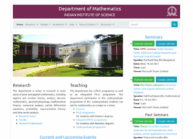 Math.iisc.ernet.in thumbnail