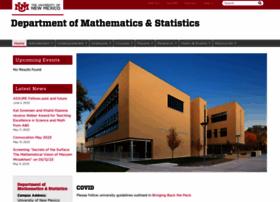 Math.unm.edu thumbnail