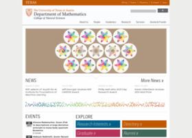 Math.utexas.edu thumbnail