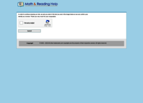 Mathandreadinghelp.org thumbnail