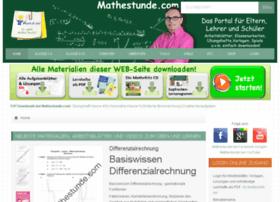 Mathe-klassenarbeiten.de thumbnail