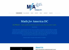 Mathforamericadc.org thumbnail