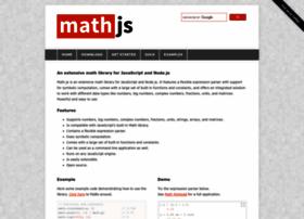 Mathjs.org thumbnail