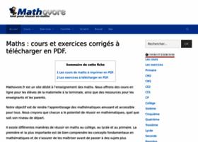 Mathovore.fr thumbnail