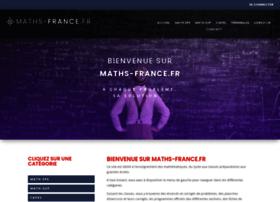 Maths-france.fr thumbnail