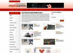 Mathscentre.co.nz thumbnail