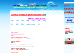 Mathsrollinat.sitew.fr thumbnail