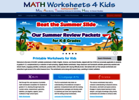 Mathworksheets4kids.com thumbnail