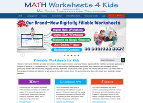 Mathworksheets4kids.com thumbnail