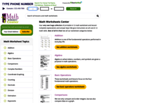 Mathworksheetscenter.com thumbnail