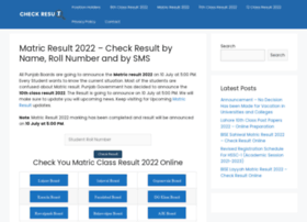 Matricresult2020.pk thumbnail