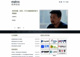 Matrixpartners.com.cn thumbnail