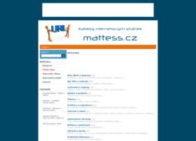 Mattess.cz thumbnail