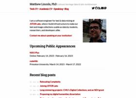 Matthewlincoln.net thumbnail