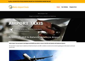 Mattsairporttaxi.co.uk thumbnail