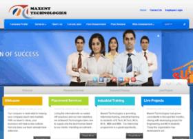 Maxentechnologies.com thumbnail