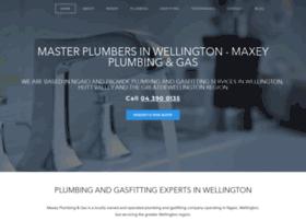 Maxeyplumbing.co.nz thumbnail