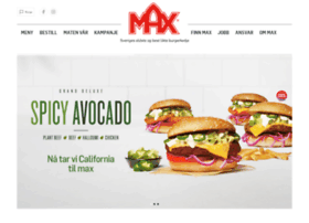Maxhamburger.no thumbnail