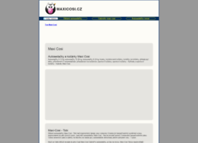 Maxicosi.cz thumbnail