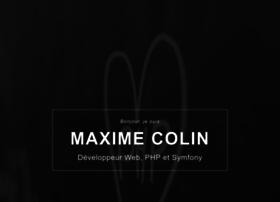 Maximecolin.fr thumbnail