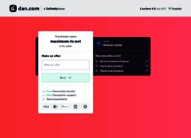 Maximum-tv.net thumbnail