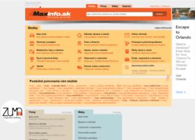 Maxinfo.sk thumbnail