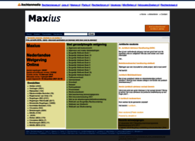Maxius.nl thumbnail